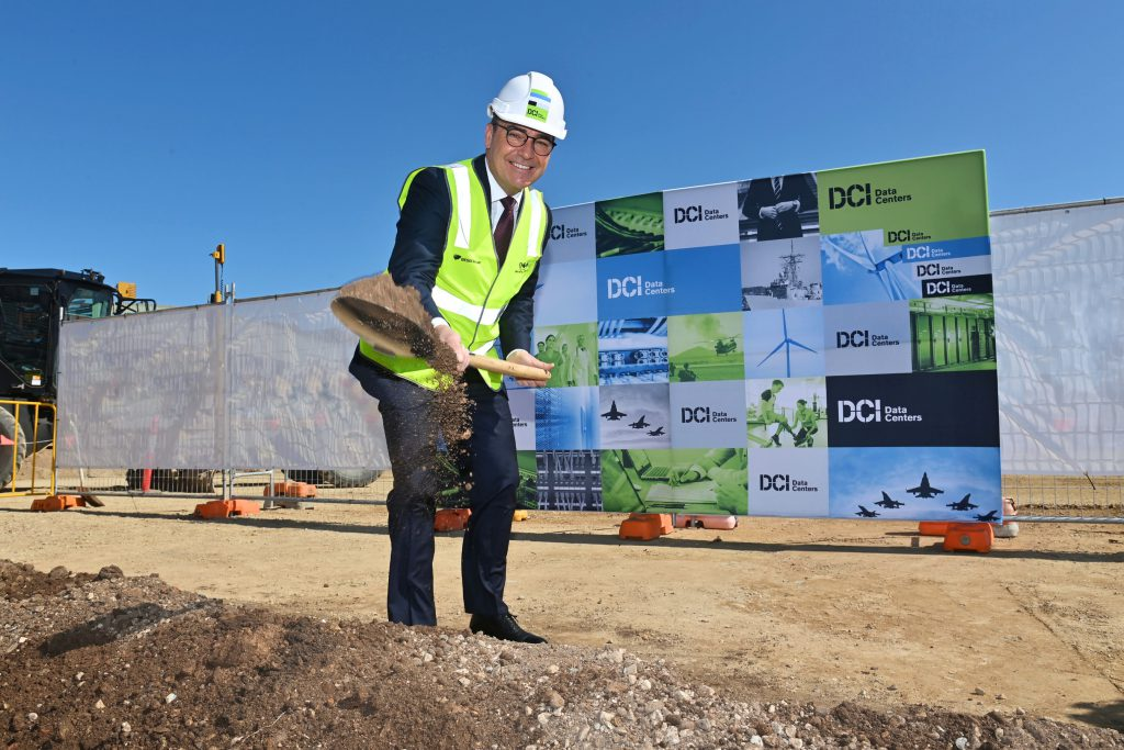Photo of Steven Marshall MP - Premier of South Australia at DCI Data Centers